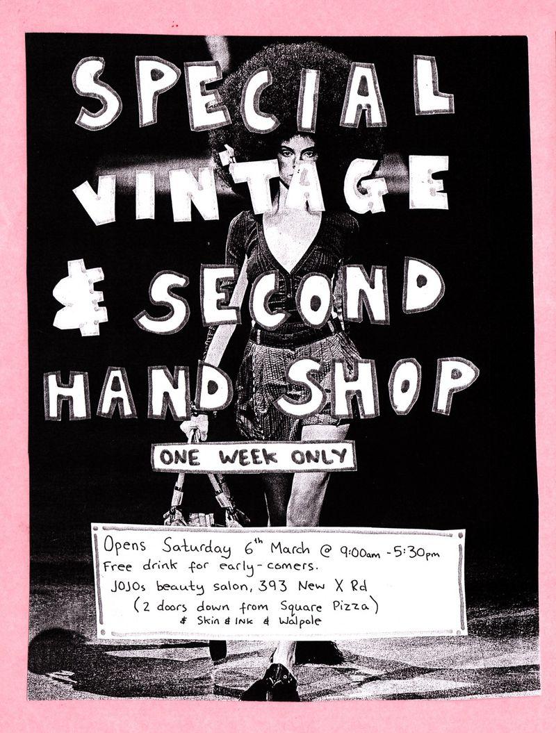 Lillie's shop[ flyer