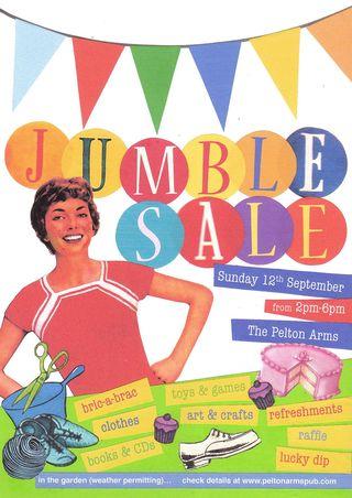 JUMBLE SALE final a:w