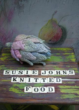Knitted food invite 1