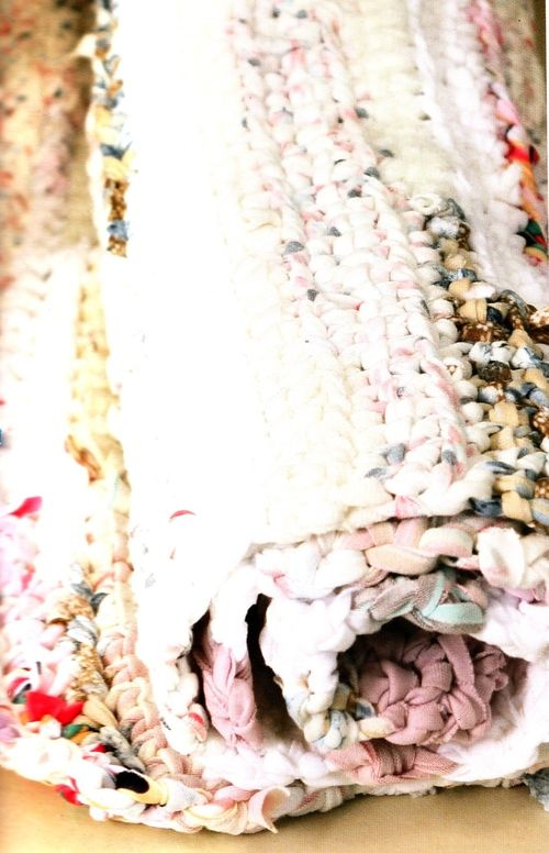 The Sunroom: Circular Crochet Rag Rug – Instructions